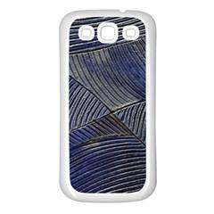 Textures Sea Blue Water Ocean Samsung Galaxy S3 Back Case (White)