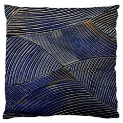 Textures Sea Blue Water Ocean Large Flano Cushion Case (One Side)