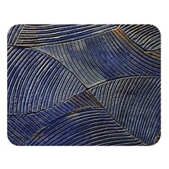 Textures Sea Blue Water Ocean Double Sided Flano Blanket (large)