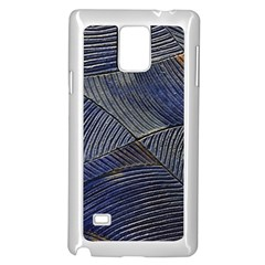 Textures Sea Blue Water Ocean Samsung Galaxy Note 4 Case (White)