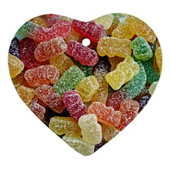 Jelly Beans Candy Sour Sweet Ornament (Heart)