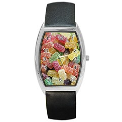 Jelly Beans Candy Sour Sweet Barrel Style Metal Watch