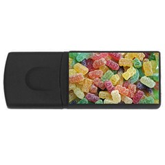 Jelly Beans Candy Sour Sweet Usb Flash Drive Rectangular (4 Gb)