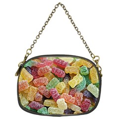 Jelly Beans Candy Sour Sweet Chain Purses (two Sides)