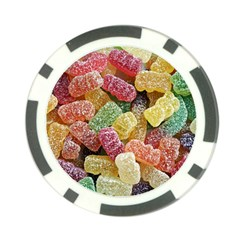 Jelly Beans Candy Sour Sweet Poker Chip Card Guard (10 pack)