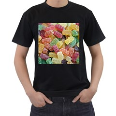 Jelly Beans Candy Sour Sweet Men s T Shirt (black)