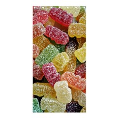 Jelly Beans Candy Sour Sweet Shower Curtain 36  x 72  (Stall)