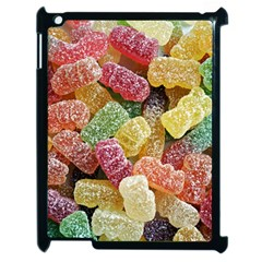 Jelly Beans Candy Sour Sweet Apple Ipad 2 Case (black)