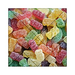 Jelly Beans Candy Sour Sweet Acrylic Tangram Puzzle (6  X 6 )