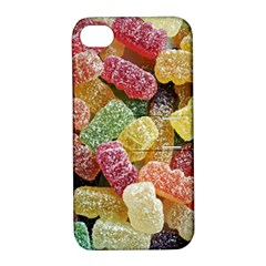Jelly Beans Candy Sour Sweet Apple iPhone 4/4S Hardshell Case with Stand
