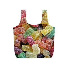 Jelly Beans Candy Sour Sweet Full Print Recycle Bags (s)