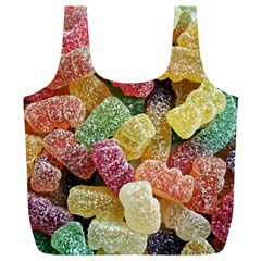 Jelly Beans Candy Sour Sweet Full Print Recycle Bags (l)