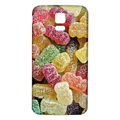 Jelly Beans Candy Sour Sweet Samsung Galaxy S5 Back Case (white)