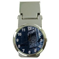 Graphic Design Background Money Clip Watches