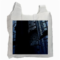 Graphic Design Background Recycle Bag (Two Side)
