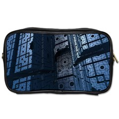 Graphic Design Background Toiletries Bags 2 Side