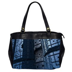 Graphic Design Background Office Handbags (2 Sides)