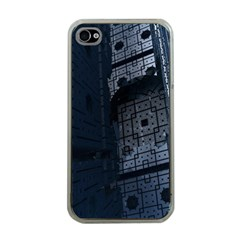 Graphic Design Background Apple iPhone 4 Case (Clear)