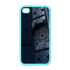 Graphic Design Background Apple Iphone 4 Case (color)