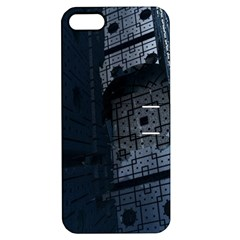 Graphic Design Background Apple Iphone 5 Hardshell Case With Stand