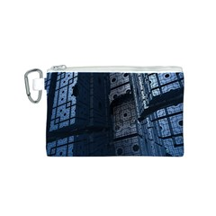 Graphic Design Background Canvas Cosmetic Bag (s)