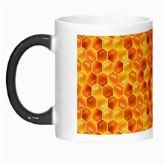 Honeycomb Pattern Honey Background Morph Mugs