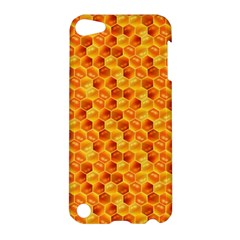 Honeycomb Pattern Honey Background Apple Ipod Touch 5 Hardshell Case