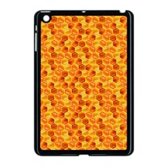 Honeycomb Pattern Honey Background Apple iPad Mini Case (Black)
