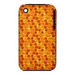 Honeycomb Pattern Honey Background Iphone 3s/3gs