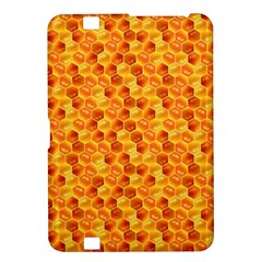 Honeycomb Pattern Honey Background Kindle Fire Hd 8 9