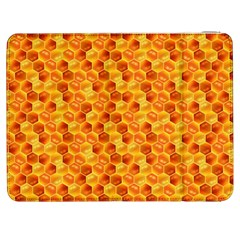 Honeycomb Pattern Honey Background Samsung Galaxy Tab 7  P1000 Flip Case