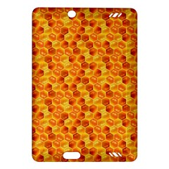 Honeycomb Pattern Honey Background Amazon Kindle Fire Hd (2013) Hardshell Case