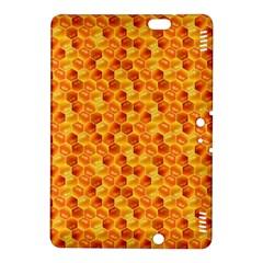 Honeycomb Pattern Honey Background Kindle Fire HDX 8.9  Hardshell Case