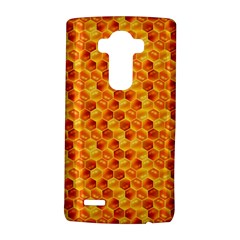 Honeycomb Pattern Honey Background Lg G4 Hardshell Case