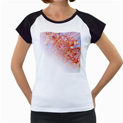 Effect Isolated Graphic Women s Cap Sleeve T