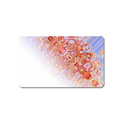 Effect Isolated Graphic Magnet (name Card)