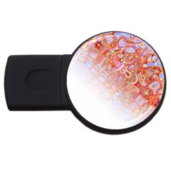 Effect Isolated Graphic USB Flash Drive Round (1 GB)
