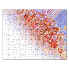 Effect Isolated Graphic Rectangular Jigsaw Puzzl