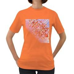 Effect Isolated Graphic Women s Dark T-Shirt