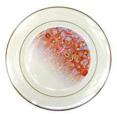 Effect Isolated Graphic Porcelain Plates