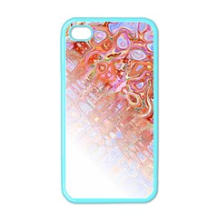 Effect Isolated Graphic Apple Iphone 4 Case (color)