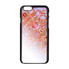 Effect Isolated Graphic Apple iPhone 6/6S Black Enamel Case