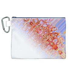Effect Isolated Graphic Canvas Cosmetic Bag (xl)