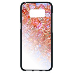 Effect Isolated Graphic Samsung Galaxy S8 Black Seamless Case