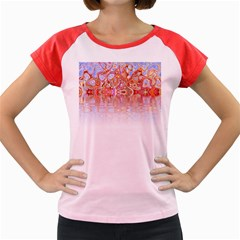 Effect Isolated Graphic Women s Cap Sleeve T Shirt