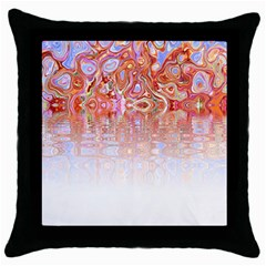 Effect Isolated Graphic Throw Pillow Case (black)