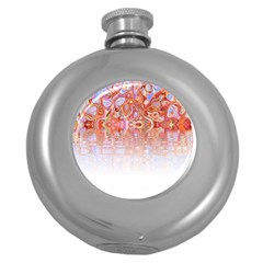 Effect Isolated Graphic Round Hip Flask (5 Oz)