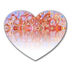 Effect Isolated Graphic Heart Mousepads