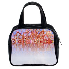 Effect Isolated Graphic Classic Handbags (2 Sides)
