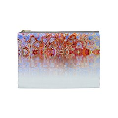 Effect Isolated Graphic Cosmetic Bag (medium)